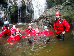 Gorge Walking in Snowdonia